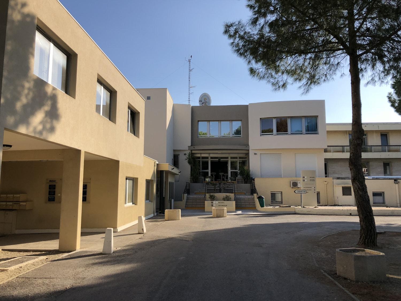 Entrée Clinique Notre-Dame d'Espérance Perpignan