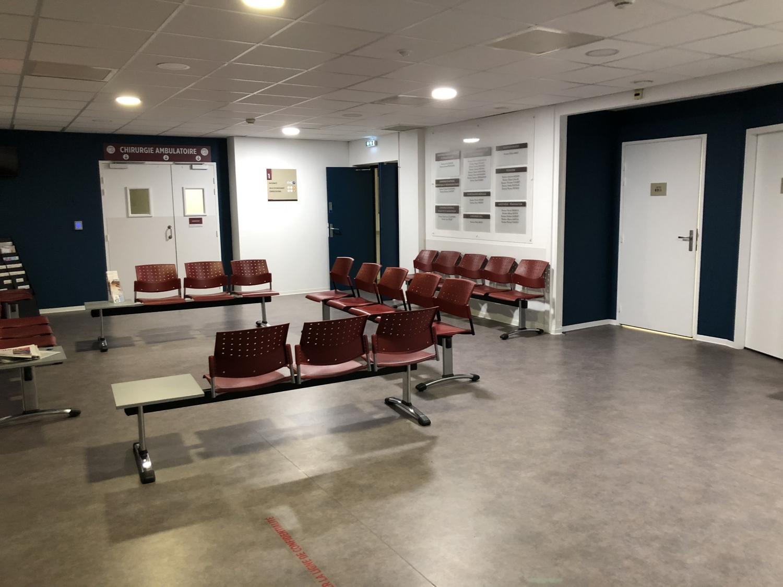 Salle d'attente Clinique Notre-Dame d'Espérance